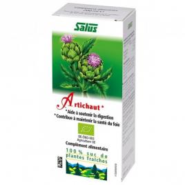 Artichaut Suc de Plantes bio 200 ml Salus Salus Accueil Onaturel.fr