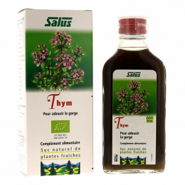 Salus - Suc de plantes Bio thym - flacon 200 ml Salus Accueil Onaturel.fr